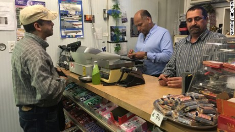 Ali Amiry and Yahya Hashemi began offering free food three years ago at their restaurant and grocery store in Montreal.