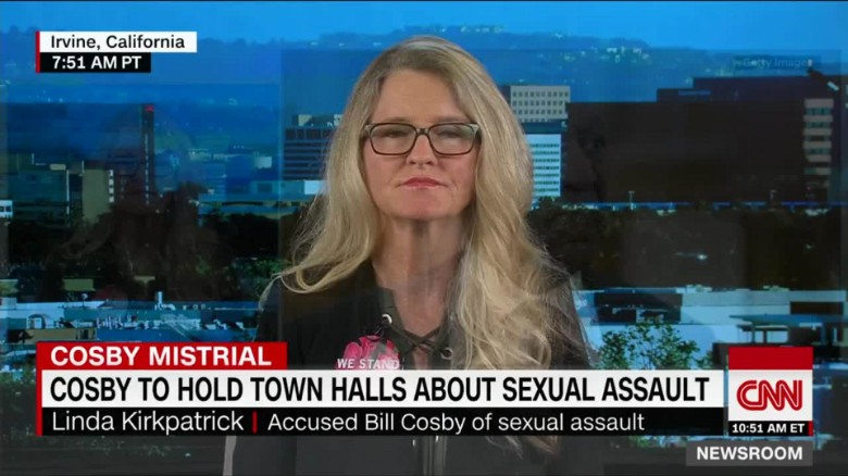 Bill Cosby accuser slams his upcoming sexual assault town halls
