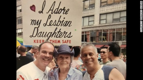 Rainbows, and politics too, at pride parade
