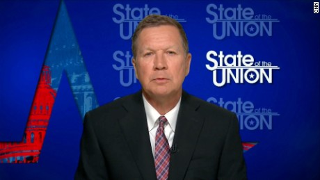 Ohio Gov. John Kasich ISO for State of the Union.