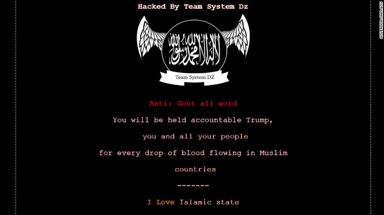 Ohio Gov. John Kasich's website was hacked on Sunday, June 25, and displayed what appeared to be pro-ISIS propaganda.