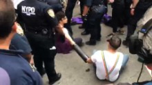 Ten protesters arrested at NYC Pride parade