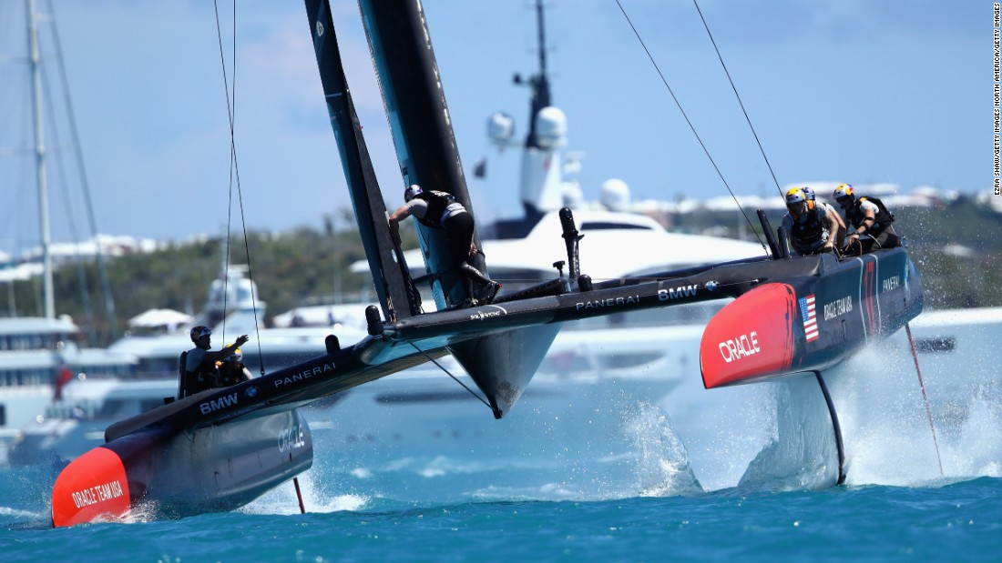 Oracle Team USA has undergone dramatic design changes, making adjustments to the rudders to improve the foiling -- but to no avail so far.