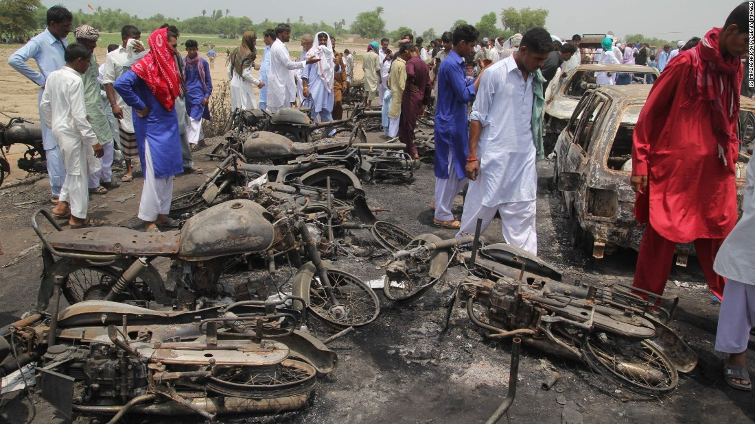 Death Toll In Pakistan Tanker Explosion Passes 200