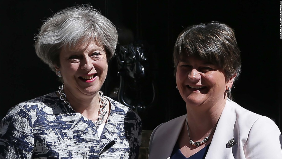DUP agrees to prop up Theresa May's UK government