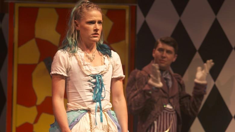 A scene from Jane Doe in Wonderland.