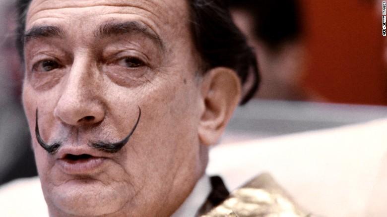 Salvador Dali body exhumed for paternity test - CNN.com
