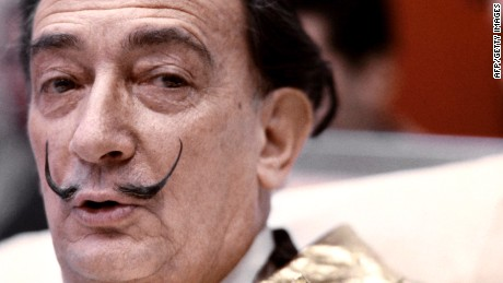 Picture taken on December 1971 of Spanish artist Salvador Dali.        (Photo credit should read -/AFP/GettyImages)