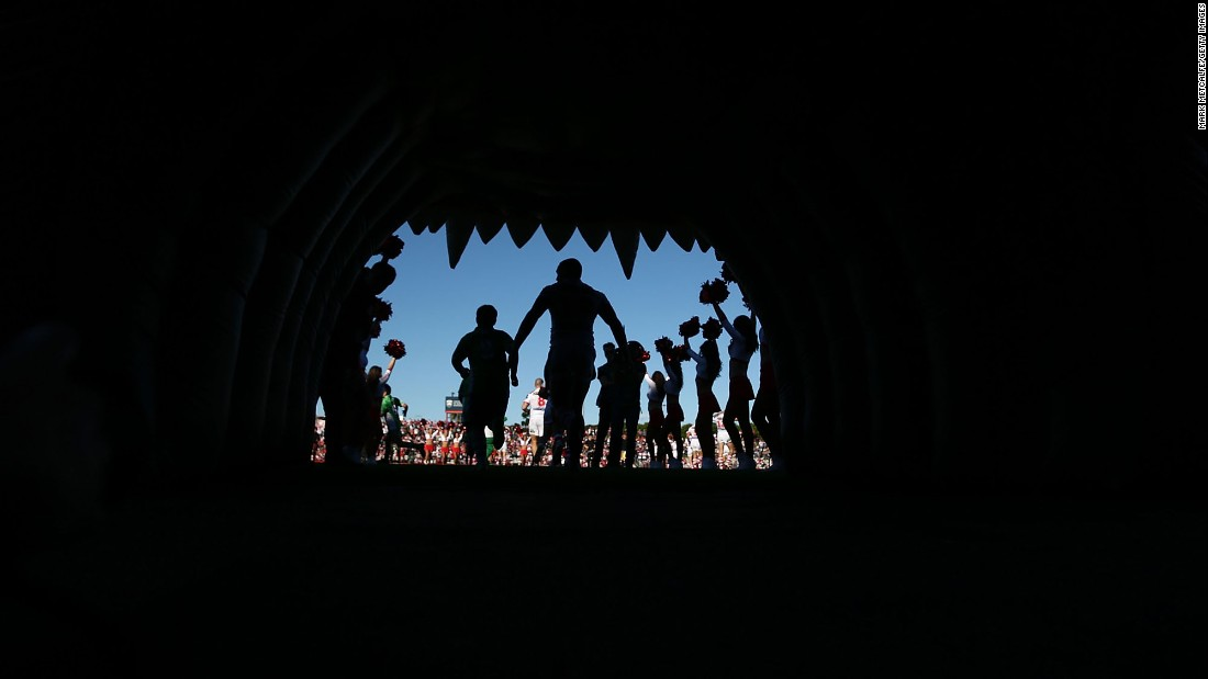 "Rugby players with the St. George Illawarra Dragons walk onto the field before a league game in Sydney on Sunday, June 25. <a href=""http://www.cnn.com/2017/06/19/sport/gallery/what-a-shot-sports-0619/index.html"" target=""_blank"">See 33 amazing sports photos from last week</a>"