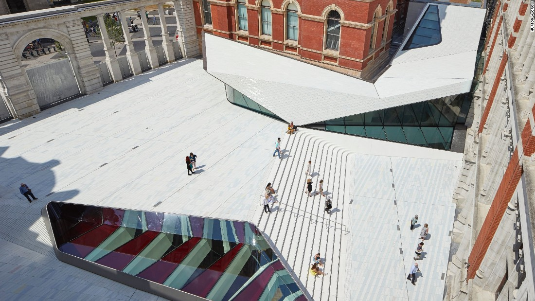 "The Victoria and Albert Museum's new Exhibition Road Quarter was designed by Amanda Levete and her practice, <a href=""http://www.ala.uk.com/"" target=""_blank"">AL_A</a>."