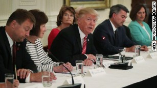 GOP senators look to lower temperature on health care; ask to end attacks against Heller