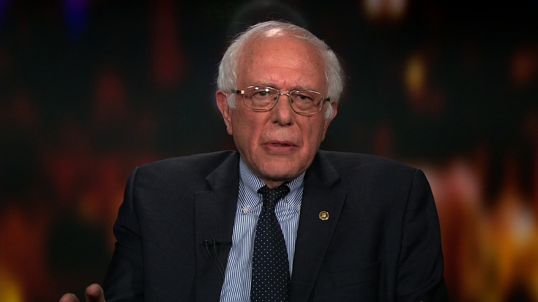 Sanders: Pathetic to go after people's wives - CNN Video