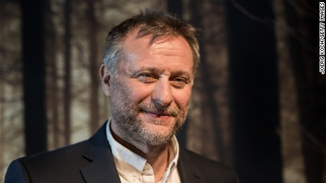 MUNICH, GERMANY - MARCH 15:  Actor Michael Nyqvist poses during a photo call for the Sky Series Night '100 Code' on March 15, 2015 in Munich, Germany.  (Photo by Joerg Koch/Getty Images)