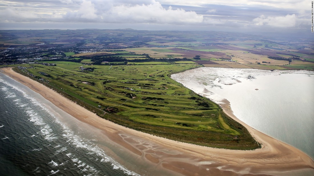 "The British Open rotates around 10 of the best links golf courses in England, Scotland and Northern Ireland. St. Andrews (pictured) is known as the ""Home of Golf"" and its Old Course is arguably the game's most hallowed turf."
