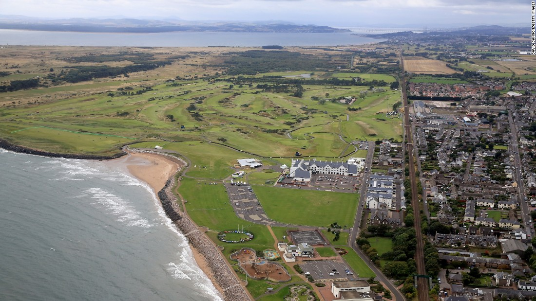 <strong>Carnoustie:  </strong>Northeast of Dundee on Scotland's east coast lies the fearsome links of Carnoustie, known as one of the toughest courses on the Open calendar.