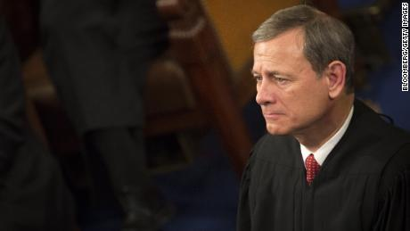 Chief Supreme Court Justice John Roberts listens as U.S. President Barack Obama delivers the State of the Union address to a joint session of Congress at the Capitol in Washington, D.C., U.S., on Tuesday, Jan. 12, 2016. Obama said he regrets that political divisiveness in the U.S. grew during his seven years in the White House and he plans to use his final State of the Union address Tuesday night to call for the nation to unite.