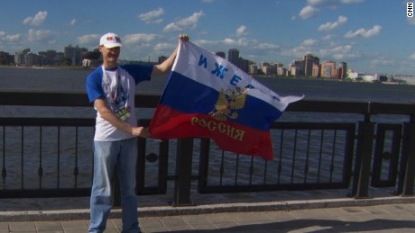World Cup enthusiasm builds in Russia
