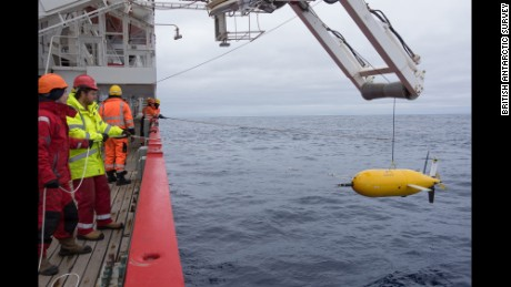 Boaty McBoatface is recovered from the Southern Ocean