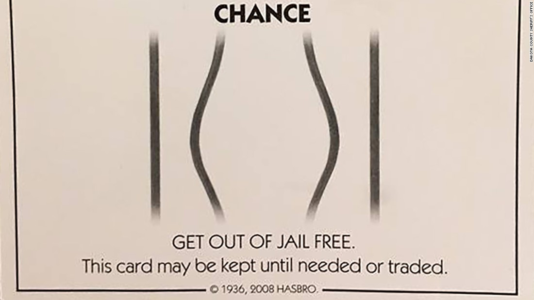Get out of jail free card 9
