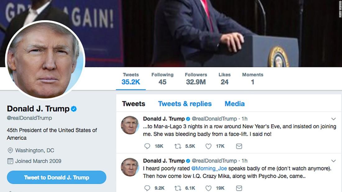 GOP lawmakers blast Trump's 'Morning Joe' tweets - CNNPolitics