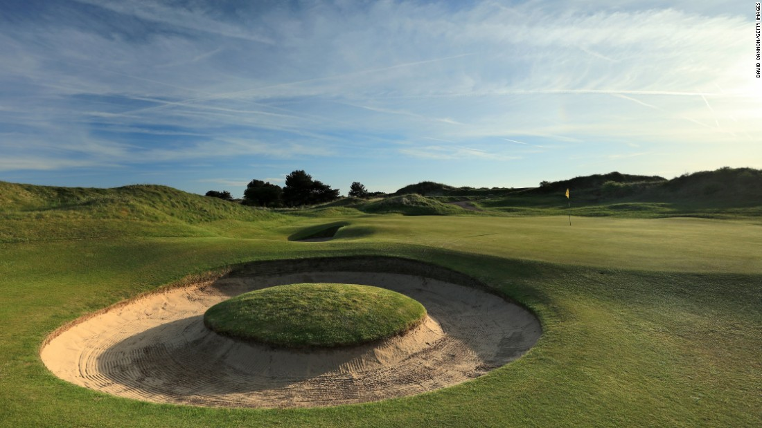 <strong>Royal Birkdale:</strong>  This powerhouse of a links features flat fairways and fair greens with holes framed by towering dunes.