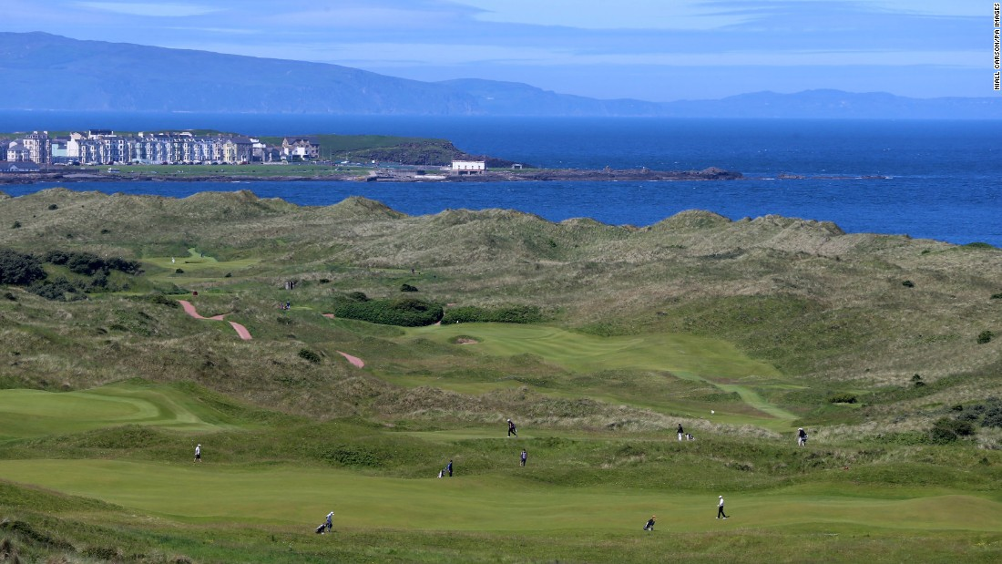 <strong>Royal Portrush: </strong>Hugging Antrim's north coast, Royal Portrush returns to the Open rotation in 2019, the first time the tournament has been hosted outside England or Scotland since it hosted the 1951 event.