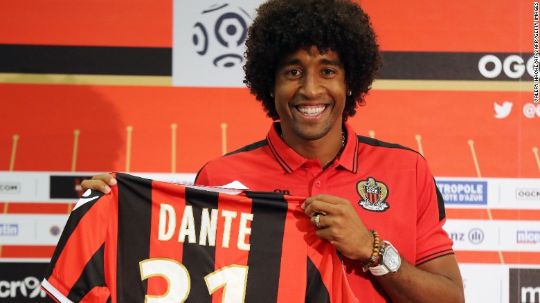 Pelé and who else? Dante's top 3 Brazilians