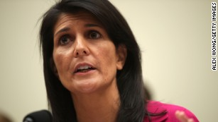 Haley uses Trump cuts as 'leverage' at UN