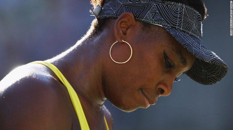 Venus Williams in accident that led to man's death