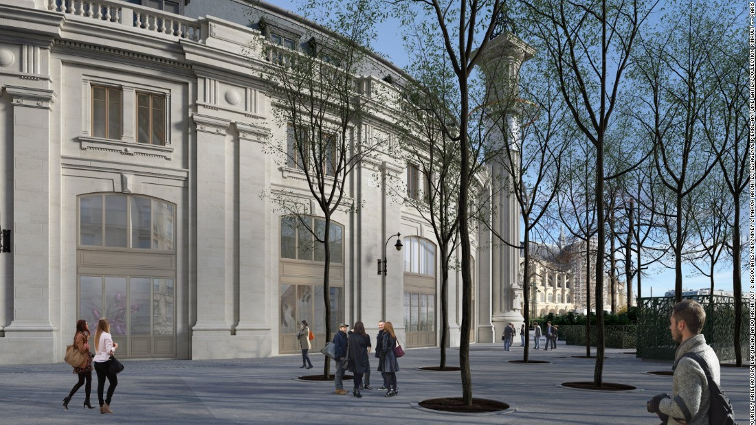 French billionaire François Pinault and architect Tadao Ando will convert Paris' Bourse de Commerce building into a new 32,000-square-foot gallery.