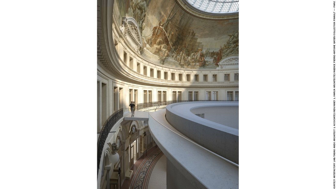 The new design is said to be inspired by Rome's Pantheon. The building will house artworks from Pinault's 3,000-piece collection.