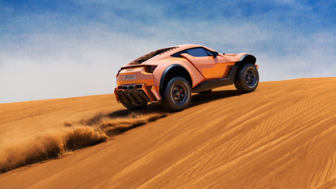 In the past there have been attempts to create a supercar with off-road capabilities. But Dubai-based manufacturer Zarooq Motors claims to be the first to pull off the balancing act between track performance and all-terrain excellence. The Sandracer 500GT aims to combine the luxury and speed of a Lamborghini with the sensibilities of a dune racer. Scroll through the gallery to discover more about the Sandracer 500GT and other luxury takes on off-road cars.