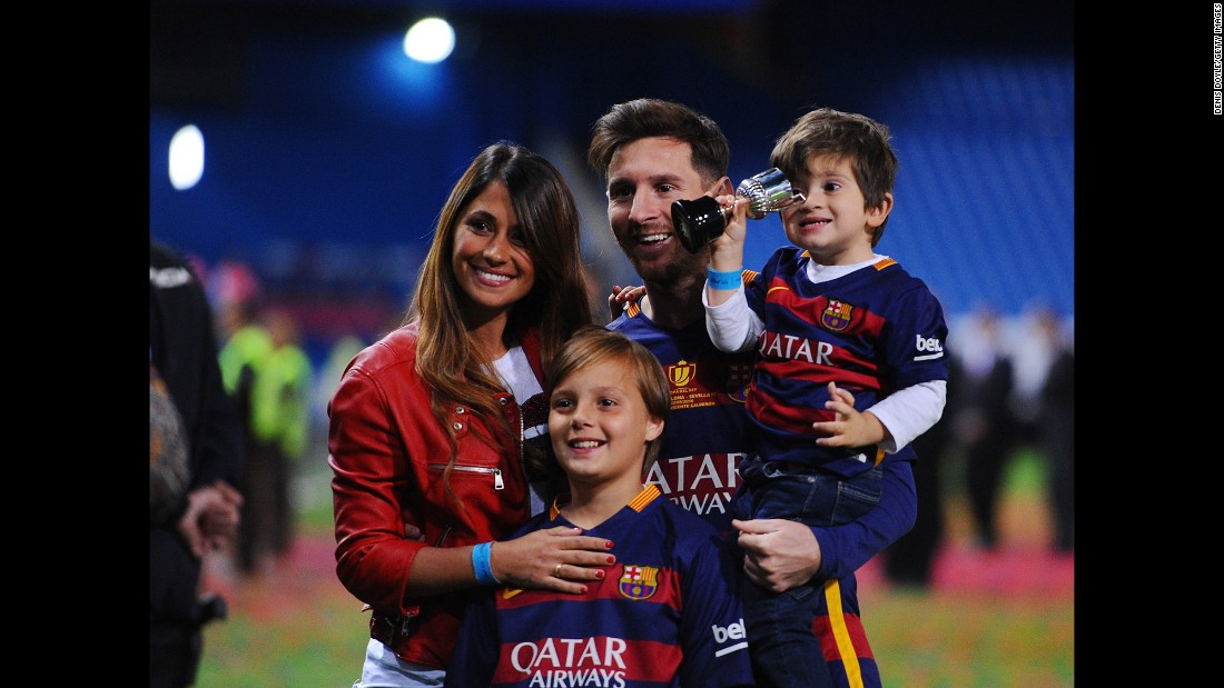 Roccuzzo was also born in Rosario. The couple's wedding will take place in the City Center Casino, in the Las Flores neighborhood of Rosario. The couple are parents to to four-year-old Thiago and one-year-old Mateo.