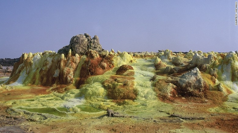 Last spring, scientists studied the Danakil Depression, in Ethiopia, in an attempt to understand how life could exist on Mars.