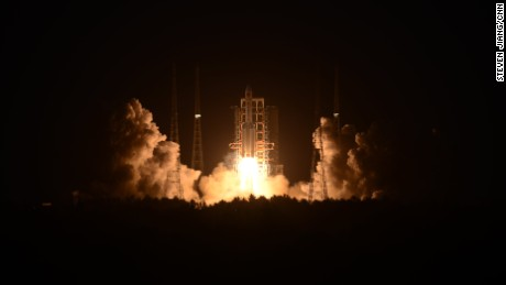 China's second launch of its new-generation Long March-5 rocket was declared a failure after liftoff Sunday.