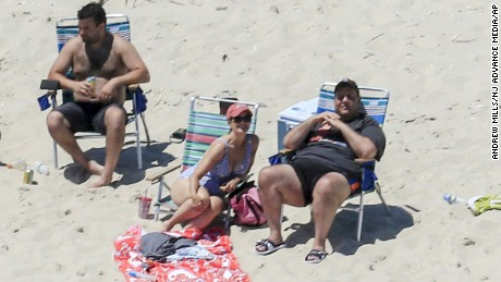 Gov. Chris Christie has defended his use of a state beach during the New Jersey government shutdown.