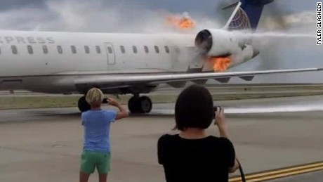 denver jet evacuated when engine catches fire glasheen bts_00003613