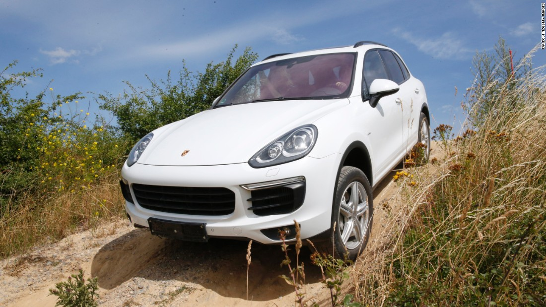 A cross between a Land Rover and a sports car, the Porsche Cayenne has been produced since 2002, and is the German manufacturer's off-road vehicle.