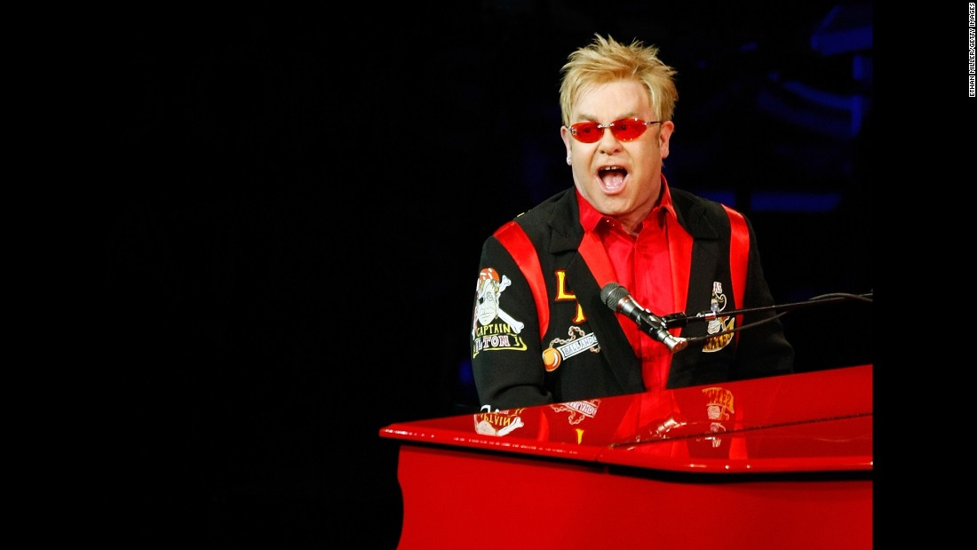 "John gives his final performance of ""The Red Piano"" in 2009. The show had been held in Las Vegas since 2004. In 2011, John started another Las Vegas residency, ""The Million Dollar Piano."""