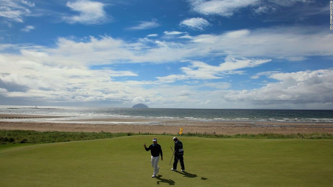 <strong>Turnberry: </strong>The Ailsa course occupies a sublime location overlooking the Firth of Clyde with sweeping views to the Ailsa Craig rock and the Isle of Arran.