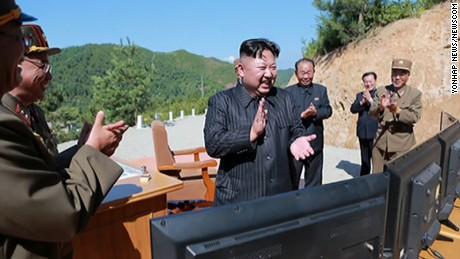 North Korea state media celebrates 'gift' to 'American bastards'