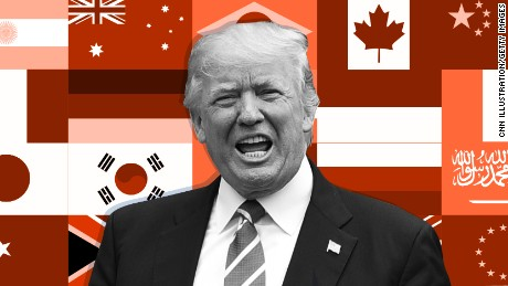Trump's long list of disagreements with G20 nations