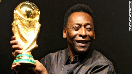 Pele is the only man in history to win three World Cups.