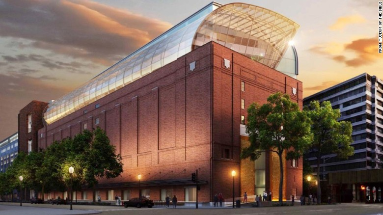 Bible museum being constructed in Washington