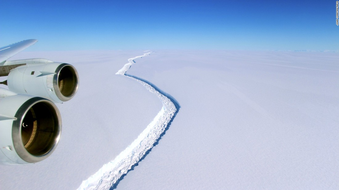 Q&A: A trillion-ton iceberg is floating in the sea. Now what?