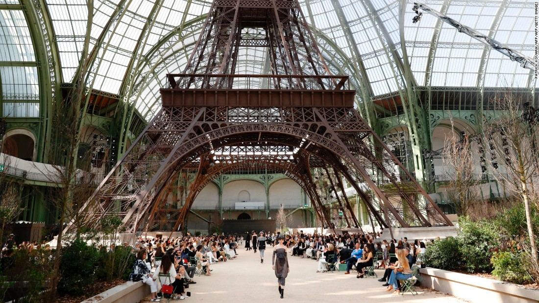 The Autumn-Winter 2017 edition of Paris couture week has seen a landmark shift in ideology, as a number of youthful ready-to-wear labels were included in the line-up as guest members, alongside mainstays like Chanel and Dior. For Chanel's extravagant set, an imitation of Paris' most famous landmark, the Eiffel Tower, was constructed in the Grand Palais.
