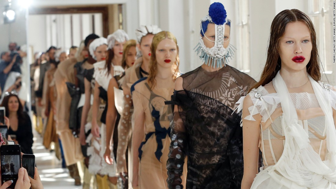 Whether as the creative director of Dior in the '90s or now at Maison Margiela, John Galliano has always presented intricate and avant garde looks at couture week.