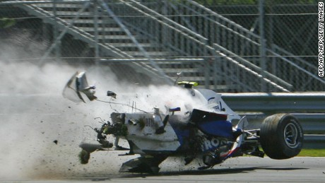 Kubica suffered a heavy crash at the 2007 Canadian Grand Prix but returned 12 months later and won the race.