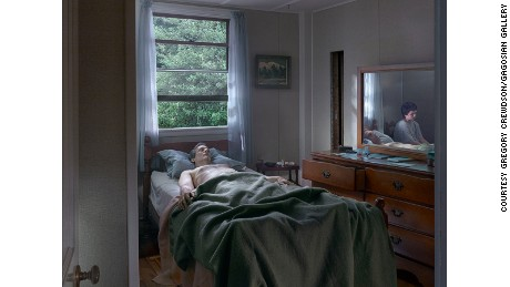 """Father and Son"" (2013) by Gregory Crewdson"