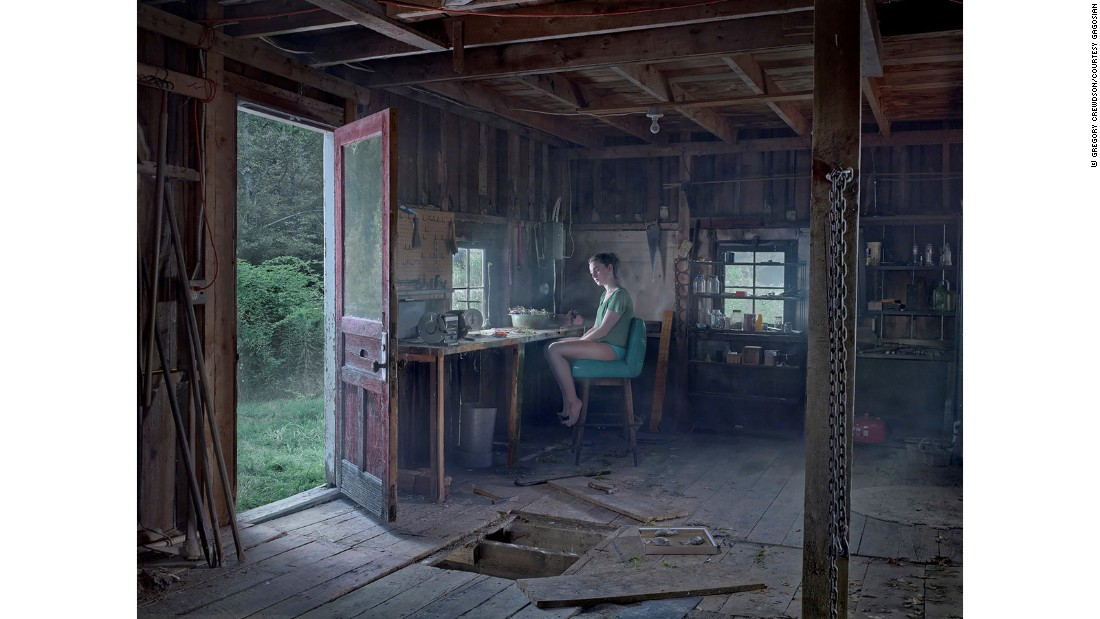 """A sense of secrets and something forbidding is what my work is about,"" Crewdson said."